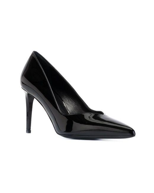 Туфли Paris Saint Laurent                                                                                                              чёрный цвет