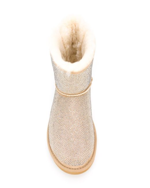 Декорированные Ботинки С Бантом GIANNI RENZI                                                                                                              Nude & Neutrals цвет