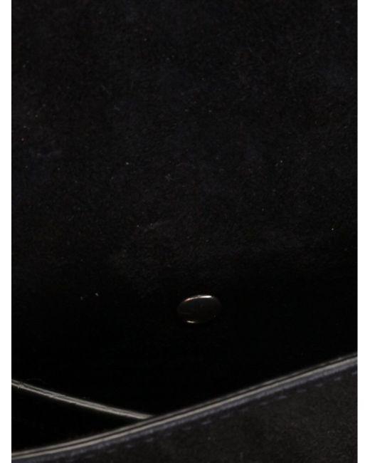 Сумочка Через Плечо С Бахромой Saint Laurent                                                                                                              чёрный цвет
