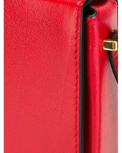 Сумка На Плечо Book Marni                                                                                                              красный цвет
