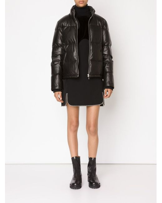 Дутая Куртка Alexander Wang                                                                                                              чёрный цвет