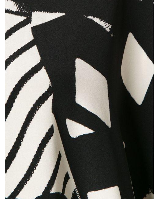 Платье-Туника С Геометрическим Принтом Zero + Maria Cornejo                                                                                                              чёрный цвет
