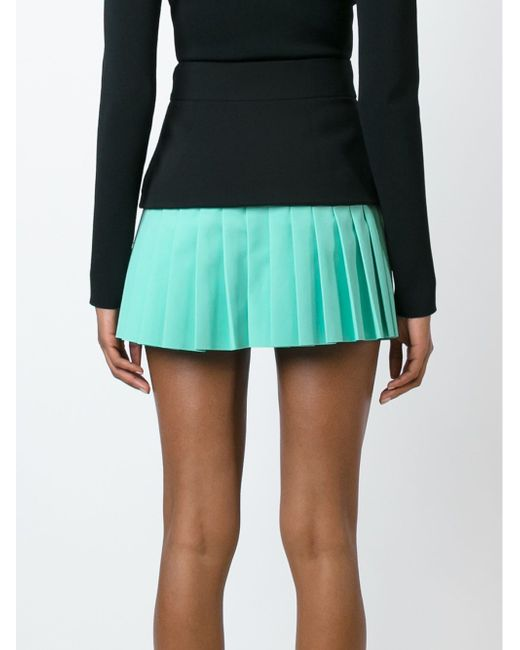 Pleated Mini Skirt Fausto Puglisi                                                                                                              чёрный цвет