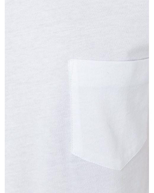 Футболка С Вырезами На Рукавах Helmut Lang                                                                                                              белый цвет