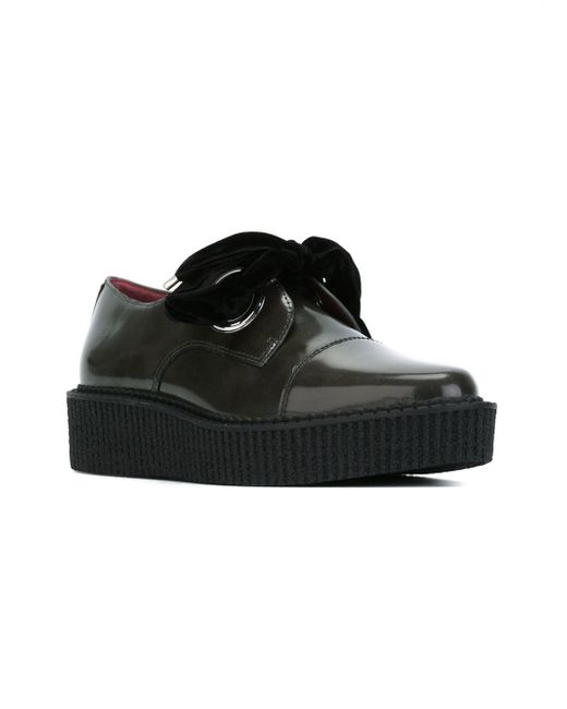 Lace-Up Creepers Marc by Marc Jacobs                                                                                                              серый цвет