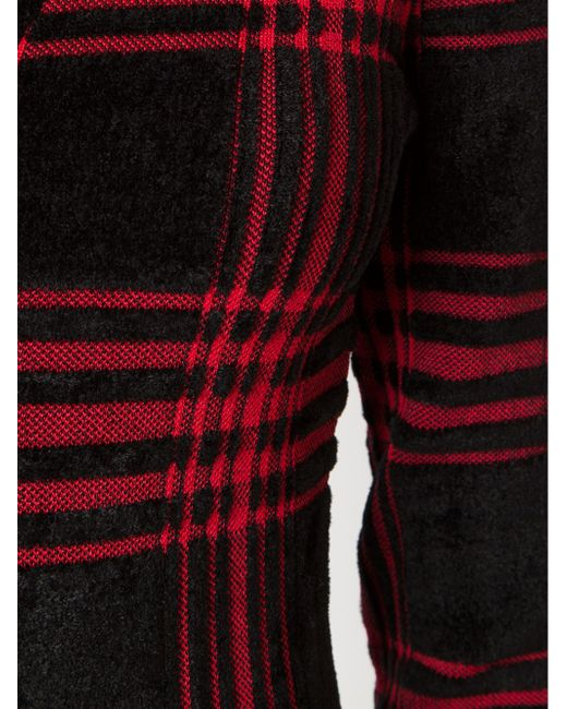 Платье В Шотландскую Клетку Alexander Wang                                                                                                              чёрный цвет