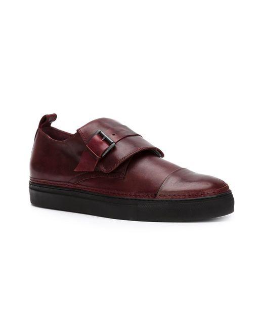 Distressed Monk Shoes Ann Demeulemeester                                                                                                              коричневый цвет