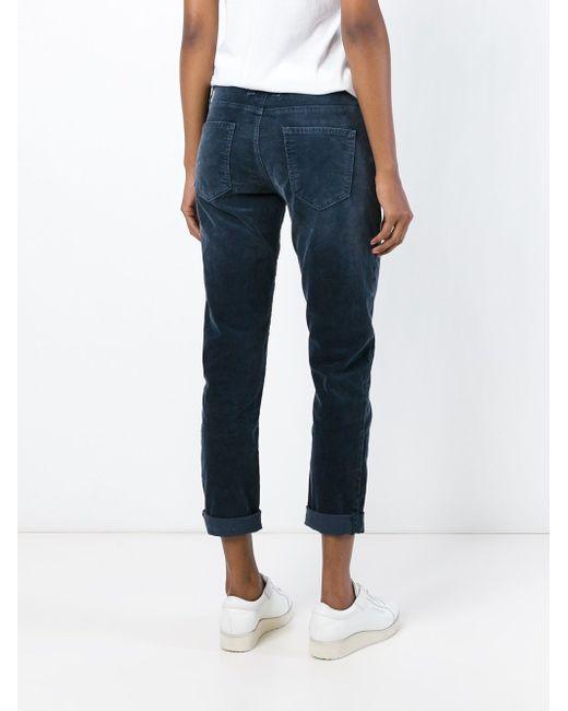 Corduroy Trousers Current/Elliott                                                                                                              синий цвет