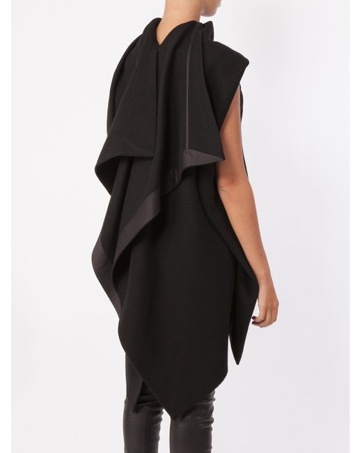High Low Knit Top Rick Owens                                                                                                              чёрный цвет