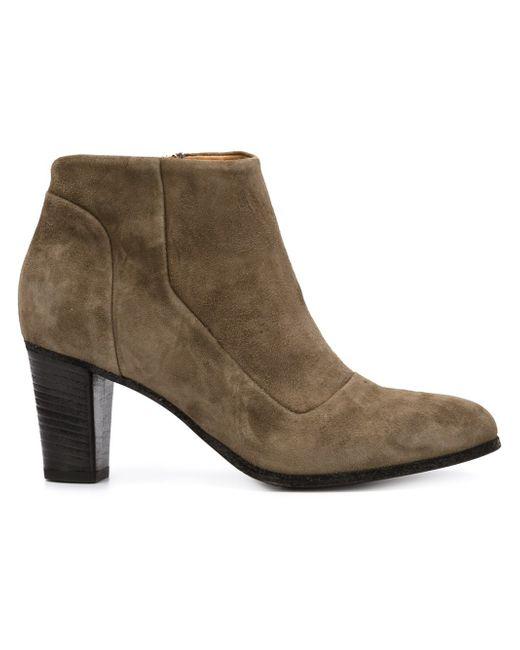 Erina Ankle Boots Alberto Fermani                                                                                                              зелёный цвет