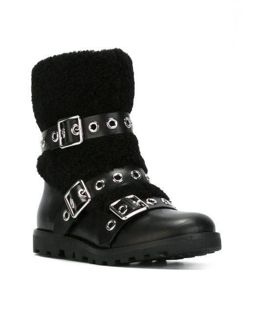 Ботинки С Пряжками Marc by Marc Jacobs                                                                                                              чёрный цвет