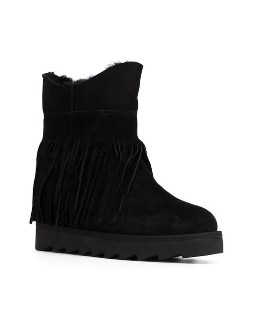 Fringed Boots Ash                                                                                                              чёрный цвет