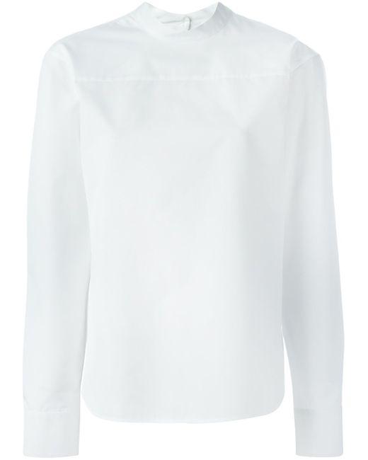 Блузка С Длинными Рукавами Jil Sander                                                                                                              белый цвет