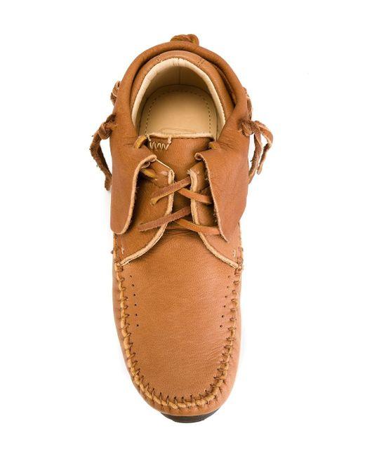 Кеды Fbt Elk Visvim                                                                                                              коричневый цвет