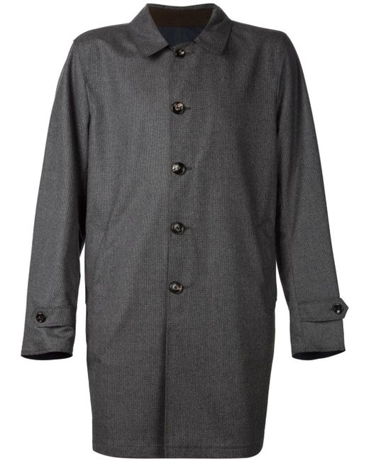 Reversible Raincoat MAURIZIO BALDASSARI                                                                                                              серый цвет