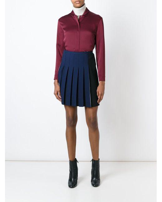 Блузка С Воротником В Рубчик Cedric Charlier                                                                                                              красный цвет