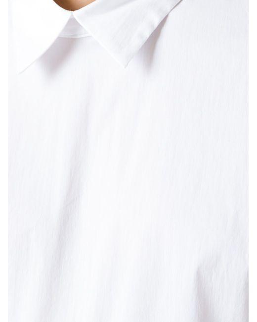 Топ Свободного Кроя P.A.R.O.S.H.                                                                                                              белый цвет
