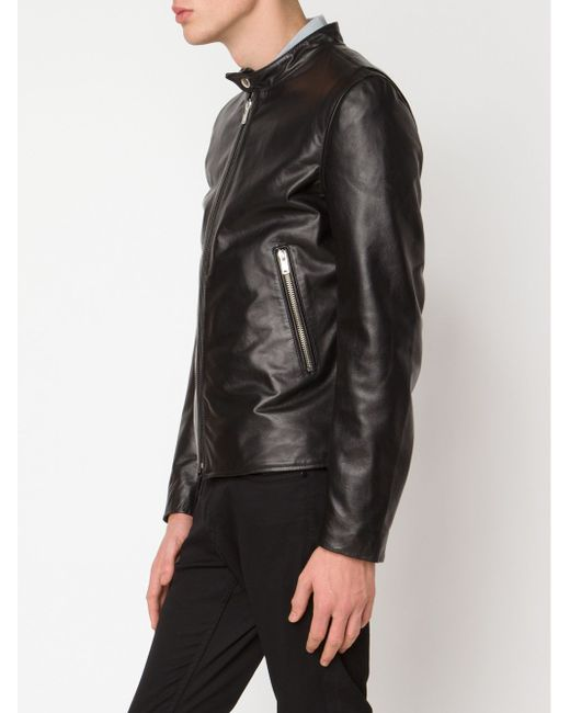 Band Collar Zipped Jacket Blk Dnm                                                                                                              чёрный цвет