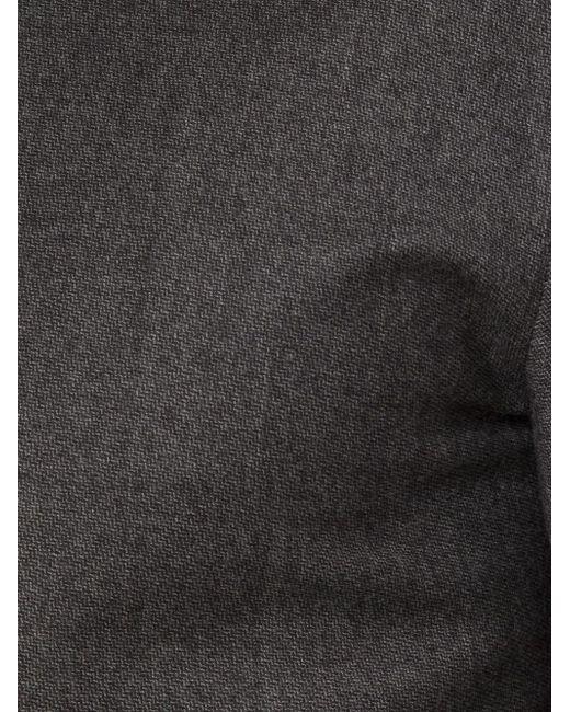 Рубашка С Контрастной Спинкой Wooyoungmi                                                                                                              чёрный цвет