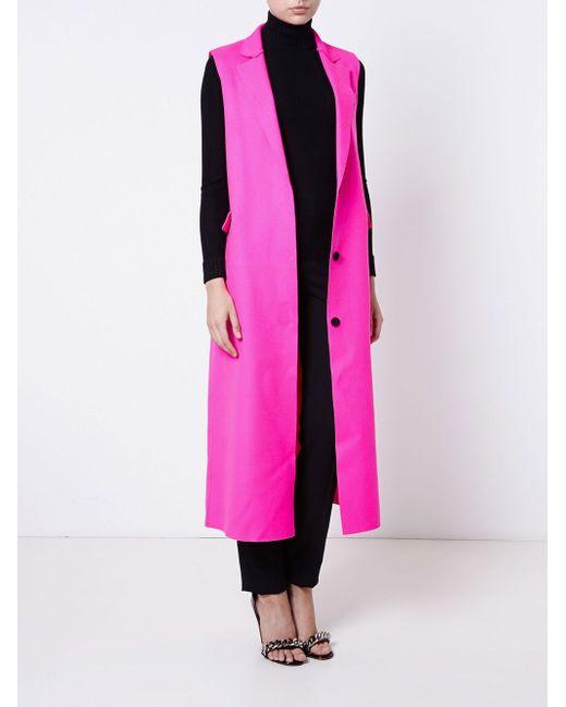 Wool-Blend Gilet MSGM                                                                                                              None цвет