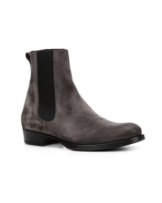 Ботинки С Эластичными Панелями BUTTERO®                                                                                                              серый цвет