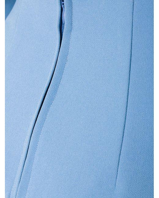 Расклешенная Юбка SCANLAN THEODORE                                                                                                              синий цвет