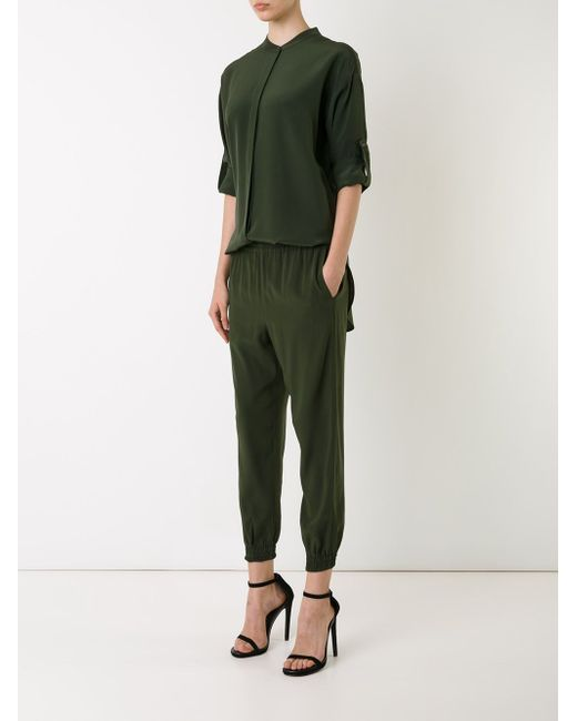 Рубашка С Воротником-Стойкой SCANLAN THEODORE                                                                                                              зелёный цвет