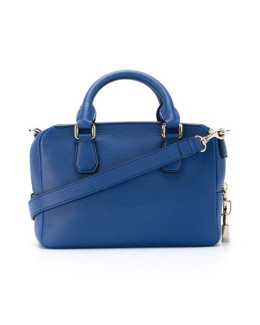 Сумка Через Плечо Mini Dover Smythson                                                                                                              синий цвет