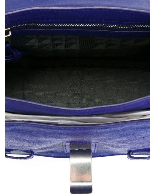 Маленькая Сумка-Сэтчел Ps1 Proenza Schouler                                                                                                              синий цвет