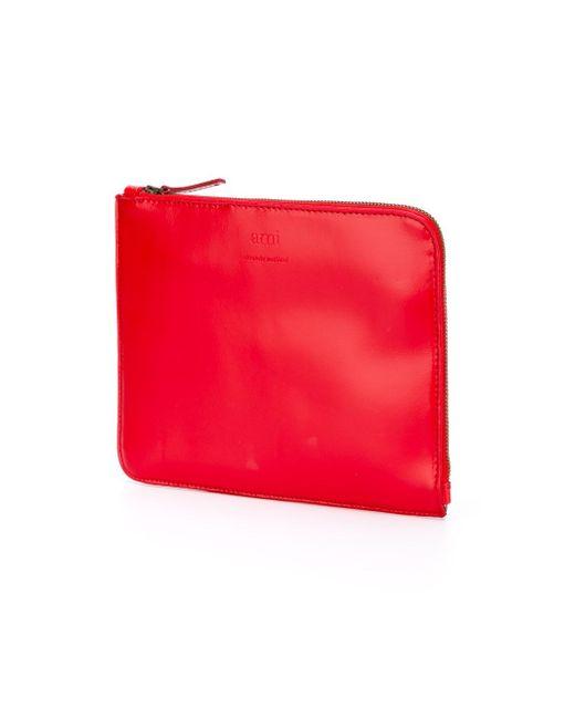 Классический Чехол Для Ноутбука Ami Alexandre Mattiussi                                                                                                              красный цвет