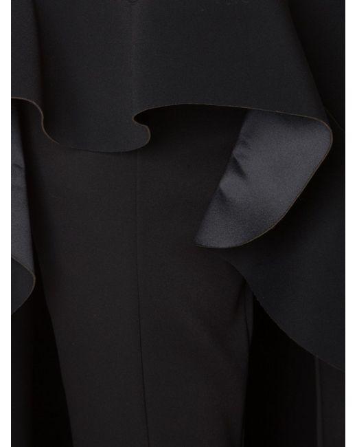 Брюки С Юбкой В Стиле Фламенко ESTEBAN CORTAZAR                                                                                                              чёрный цвет