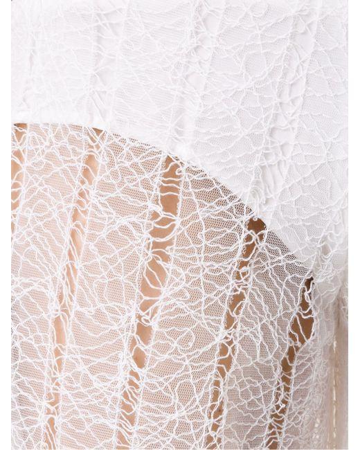 Прозрачные Кюлоты SCANLAN THEODORE                                                                                                              белый цвет