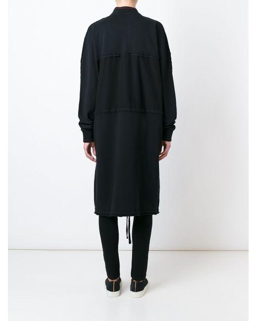 Пальто Cleo Silent Damir Doma                                                                                                              чёрный цвет