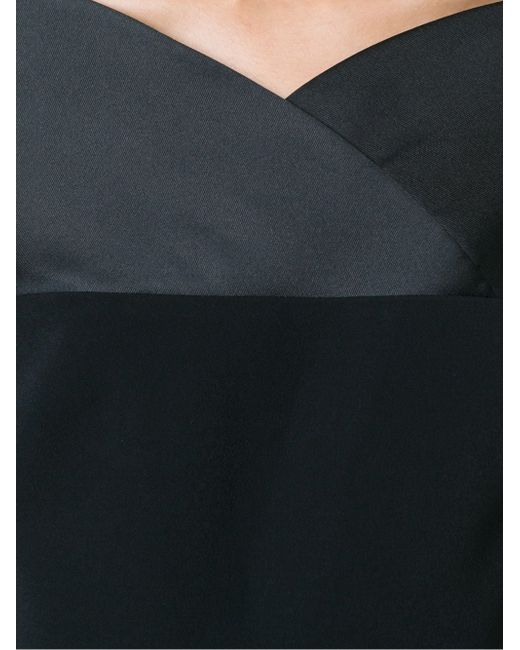Приталенное Платье С Открытыми Плечами Antonio Berardi                                                                                                              чёрный цвет