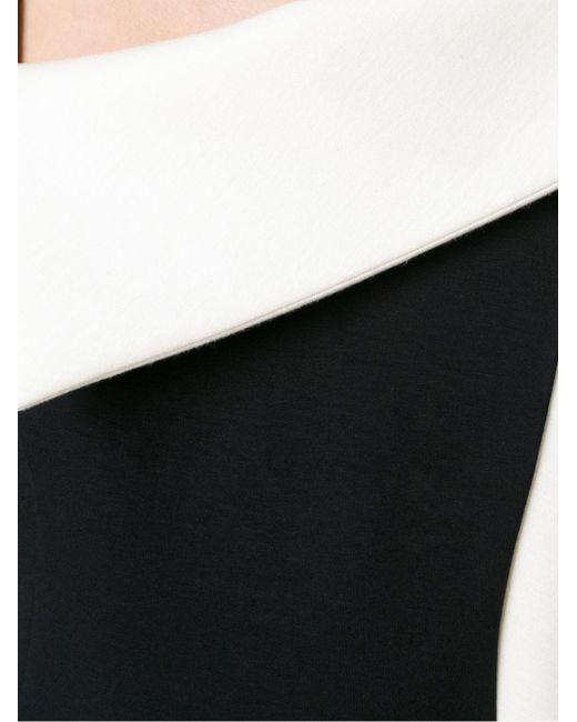 Платье С Открытым Плечом Antonio Berardi                                                                                                              чёрный цвет
