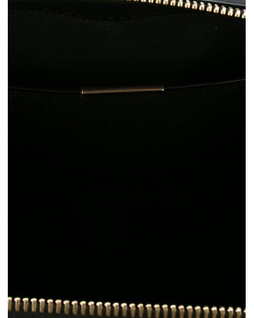 Классическая Структурированная Сумка-Тоут Victoria Beckham                                                                                                              чёрный цвет