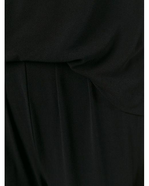 Комбинезон С Короткими Рукавами By Malene Birger                                                                                                              чёрный цвет