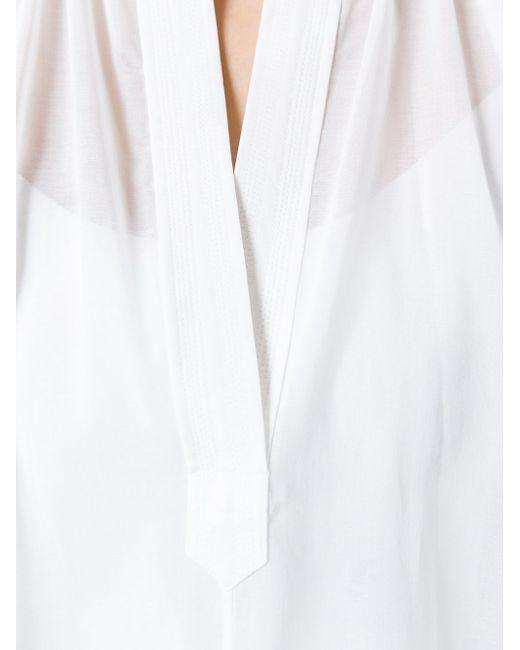 Туника Poet Helmut Lang                                                                                                              белый цвет