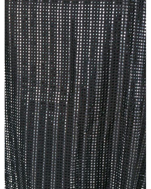 Декорированный Топ Без Рукавов Faith Connexion                                                                                                              чёрный цвет