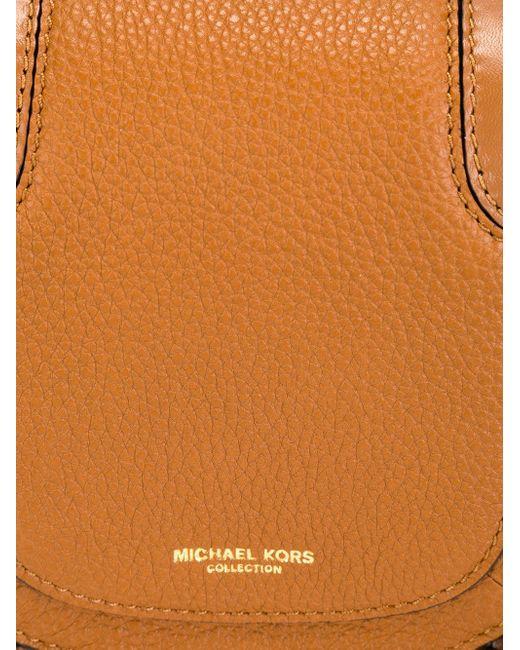 Маленькая Сумка Через Плечо Skorpios Michael Kors                                                                                                              коричневый цвет