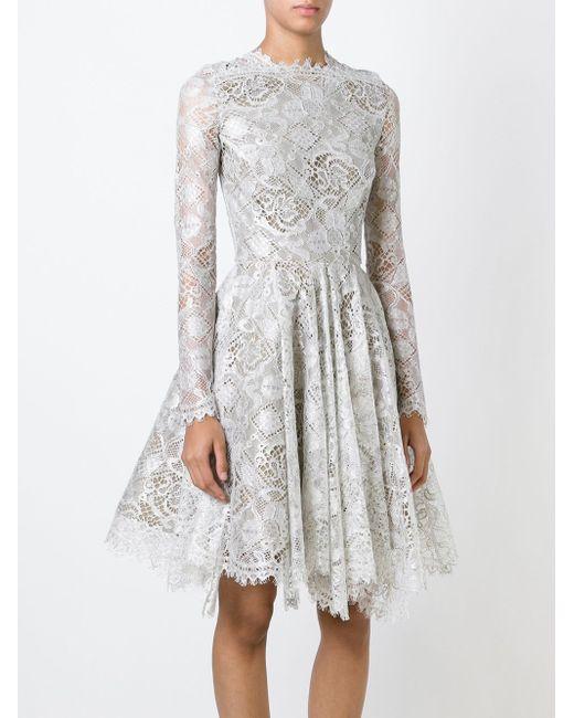Расклешенное Платье Mella Maria Lucia Hohan                                                                                                              серый цвет