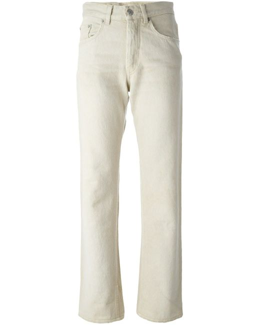 Distressed Straight Leg Jeans HELMUT LANG VINTAGE                                                                                                              Nude & Neutrals цвет