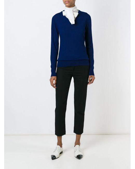 V-Neck Sweater Michael Michael Kors                                                                                                              синий цвет