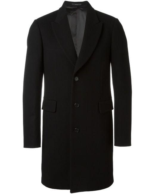 Однобортное Пальто Paul Smith                                                                                                              чёрный цвет