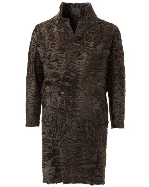 Stand Up Collar Reversible Coat 32 PARADIS SPRUNG FRERES                                                                                                              чёрный цвет