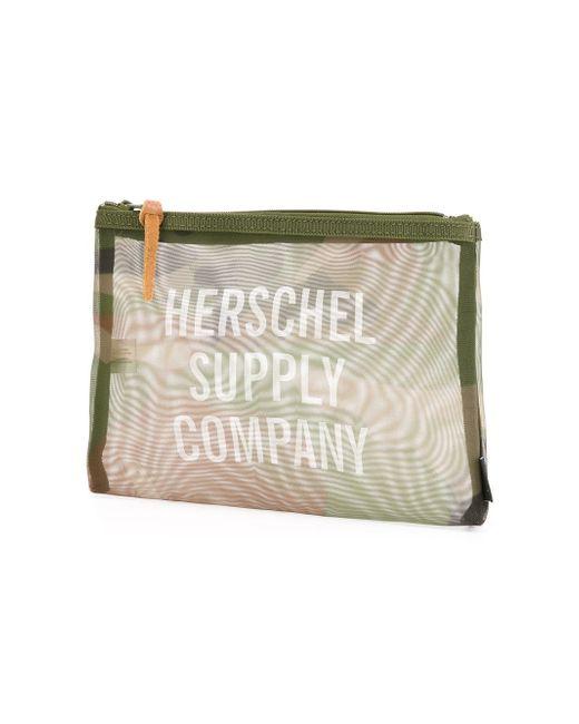 Несессер Network Herschel Supply Co.                                                                                                              зелёный цвет