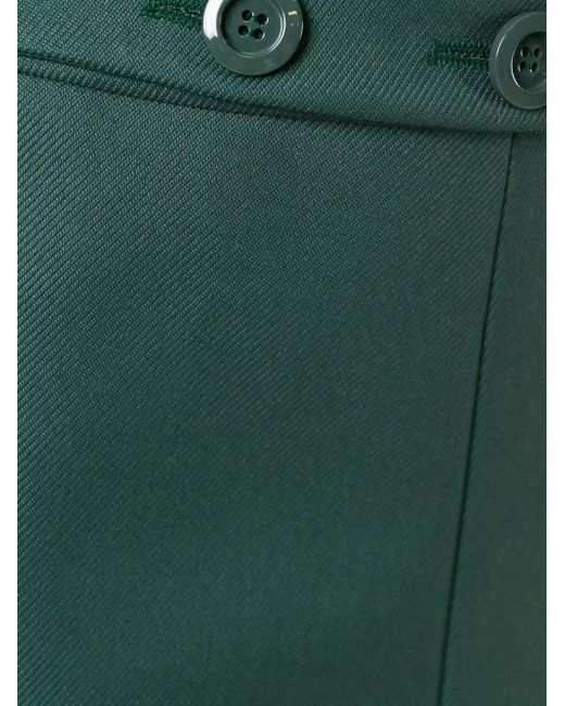 Юбка А-Образного Силуэта Red Valentino                                                                                                              зелёный цвет