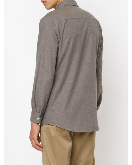 Рубашка С Нагрудным Карманом Melindagloss                                                                                                              серый цвет