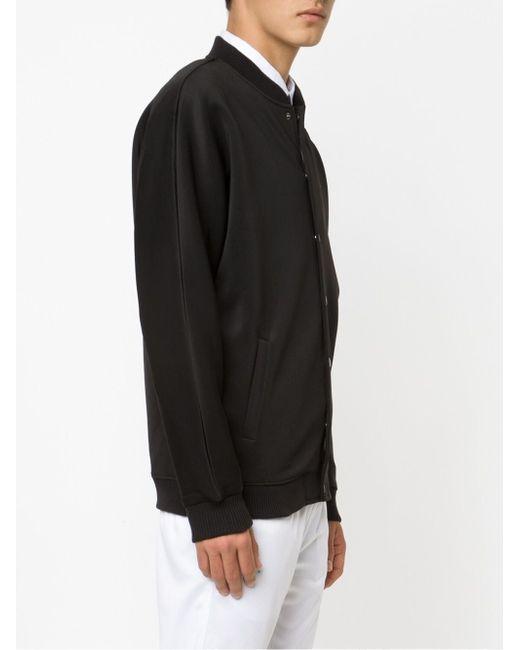 Куртка-Бомбер Crafter Publish                                                                                                              чёрный цвет