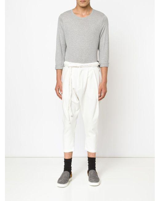 Major Slash Trousers Publish                                                                                                              белый цвет